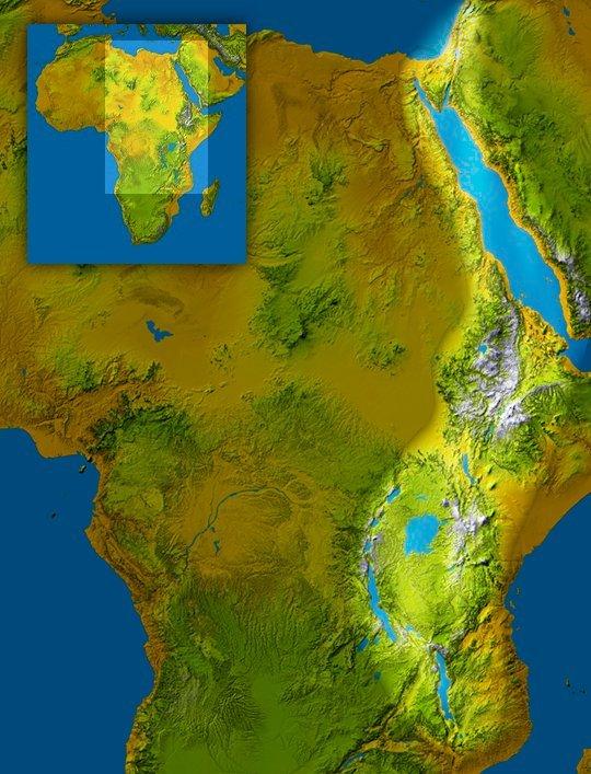 Afrikaanse Riftsysteem / Grote Slenk